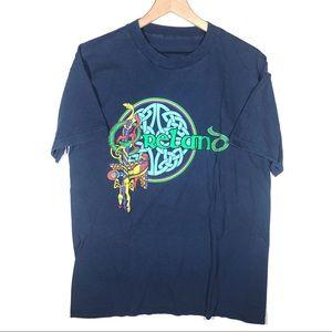 Vintage 90s Reland T shirt Single stitch